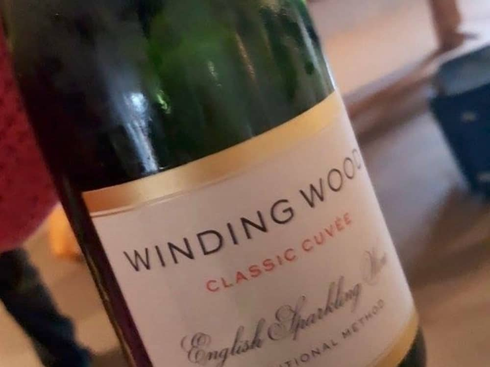 Windinf wood english sparkling wine made in Berkshire