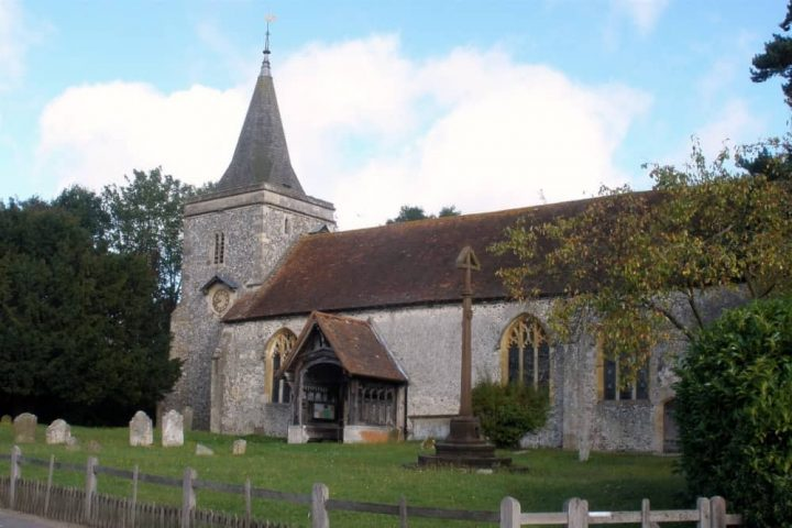 stPeter and St Paul Church Yattendon stone built