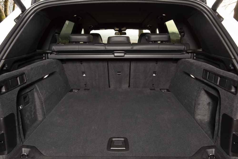 2019 BMW X5Boot space