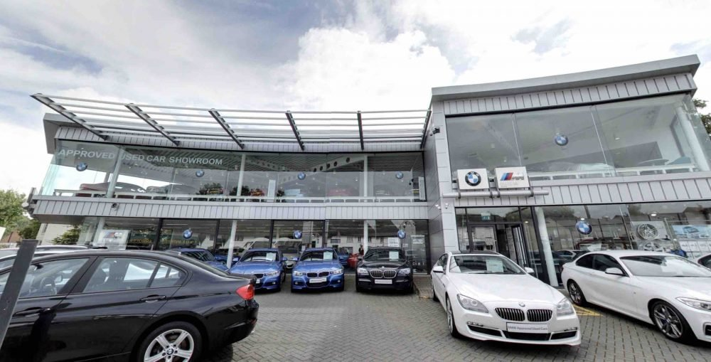 BMW Dick Lovett Hungerford showroom