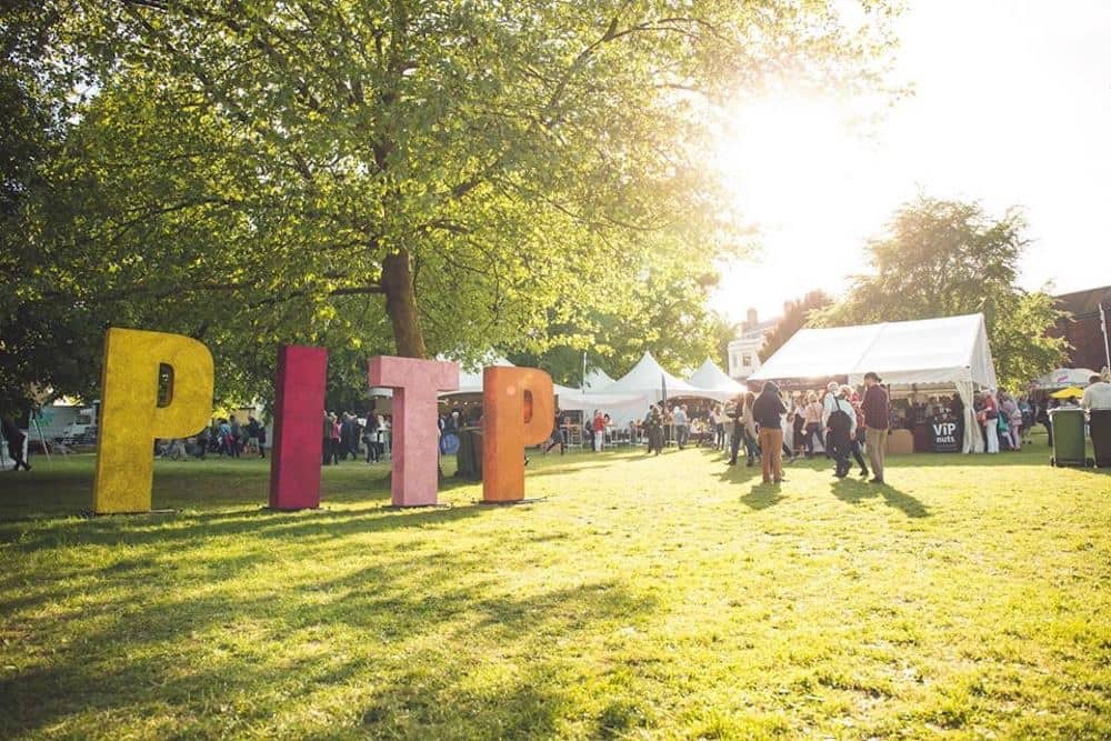 Pub in the park Tom Kerridge Giant PITP letters