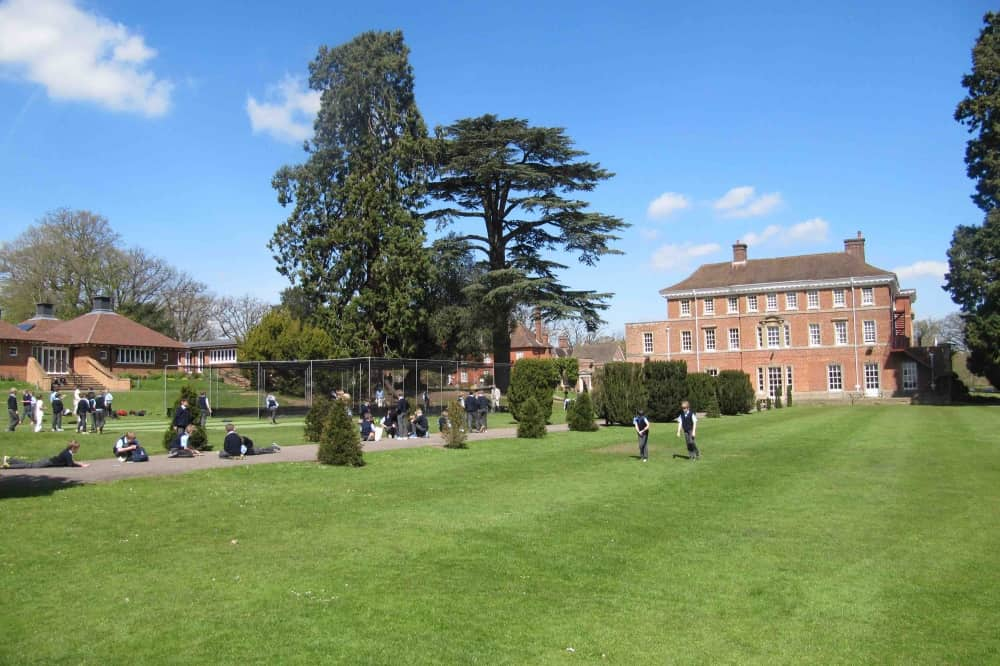 ELSTREE co ed prep school Berkshire grand mansion acres of playing fields and woodlans