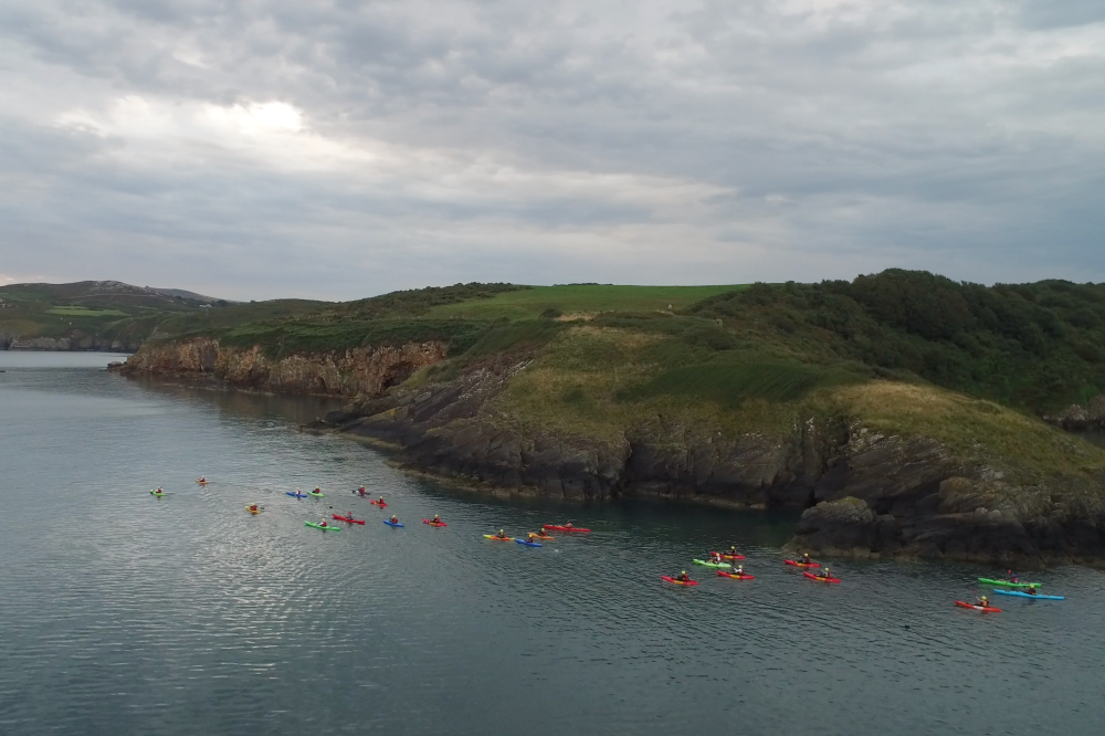 Heads Up kayak Pembrokeshire