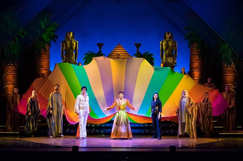 Joseph and his Technicolour Dreamcoat theatre