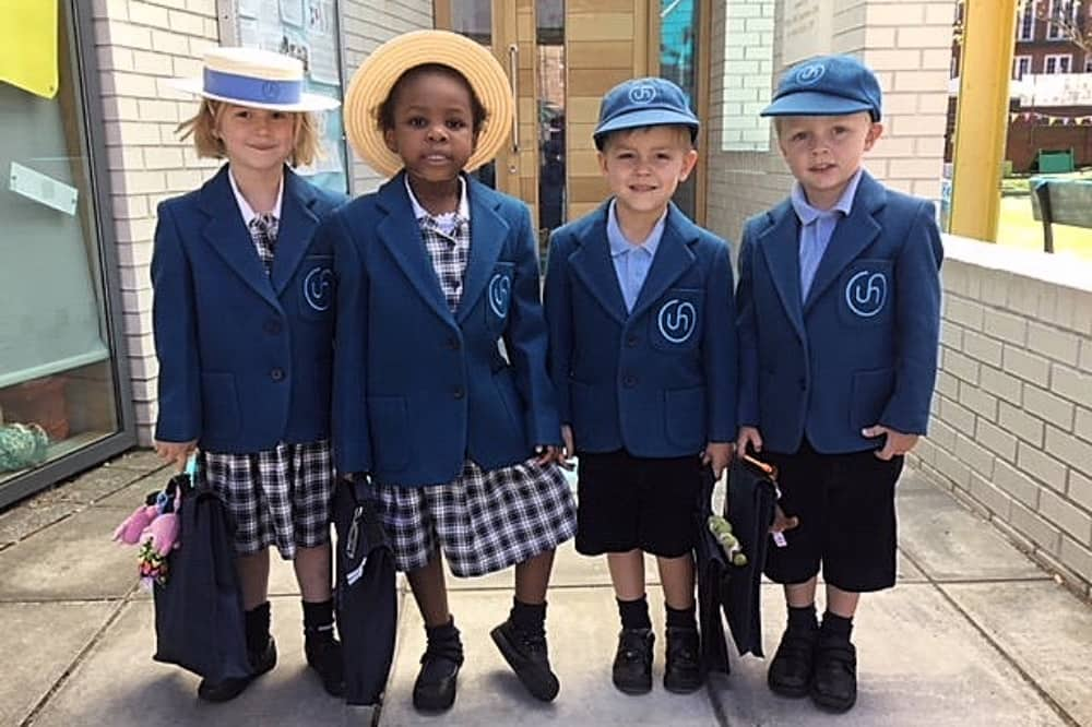 Little Upton Nursery Upton House School Windsor boater hats and caps blazers uniform