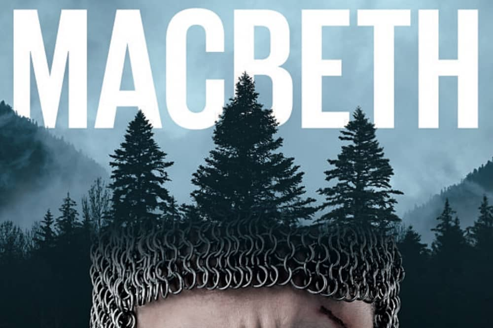 Macbeth Opera chainmail with tree crown