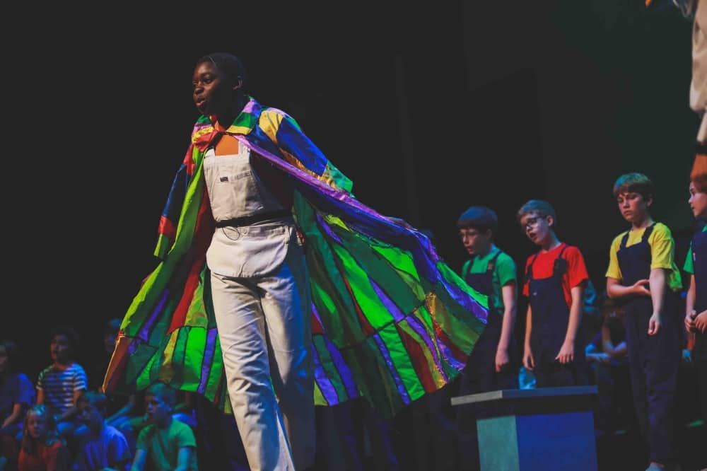st George's Windsor school production of Jospeh and his technicolour dreamboat