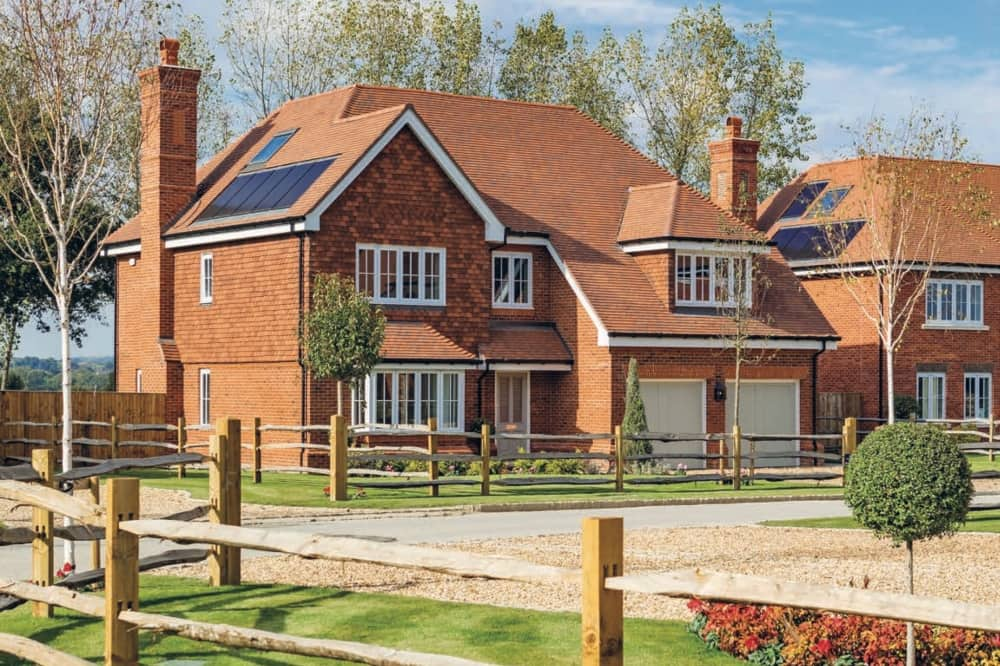 millgate beedon place Pangbourne luxury red HOME new