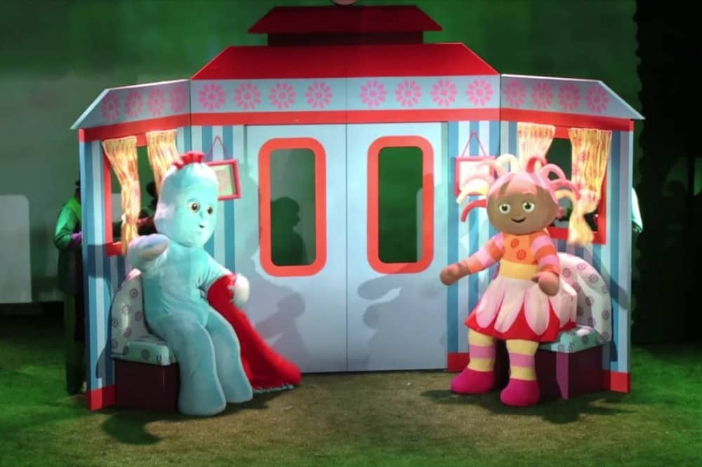 iggle piggle upsy daisy in the night garden live tour