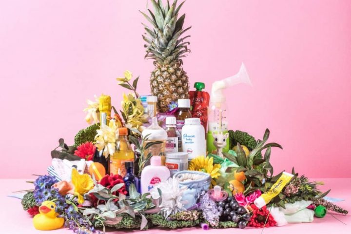 babies and childbirth pineapples breast pumps sudacrem and more piled into a pyramid of funny birthing stories
