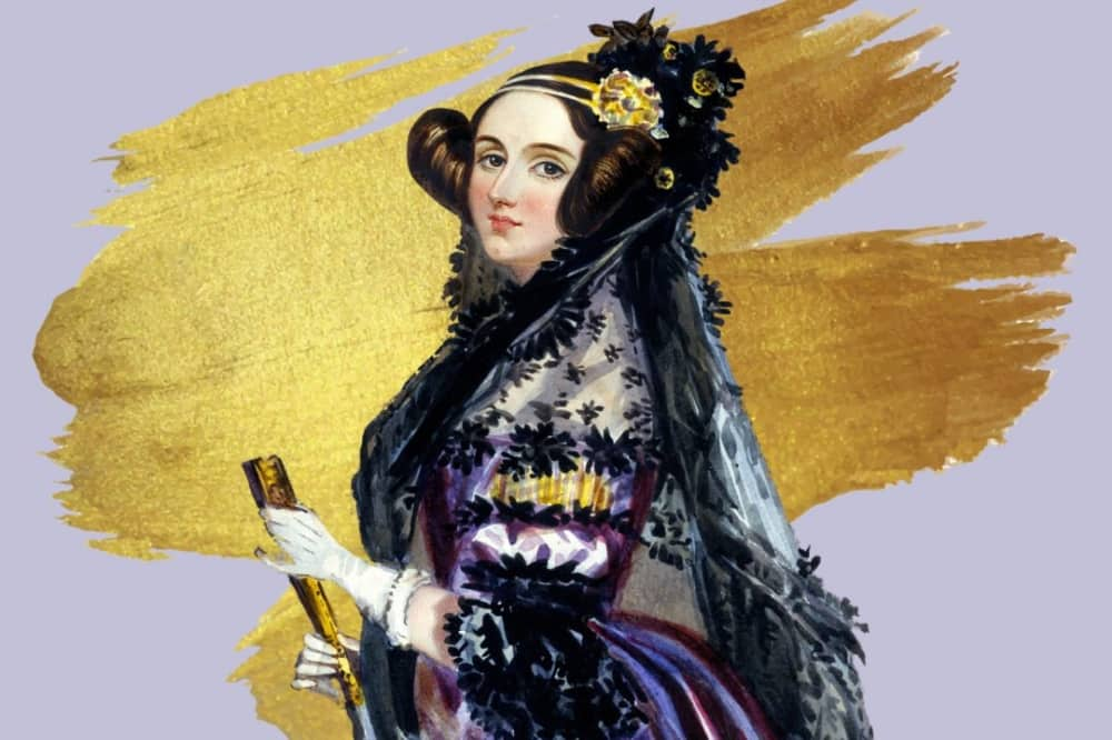 Painting of Ada Lovelace first computer programmer