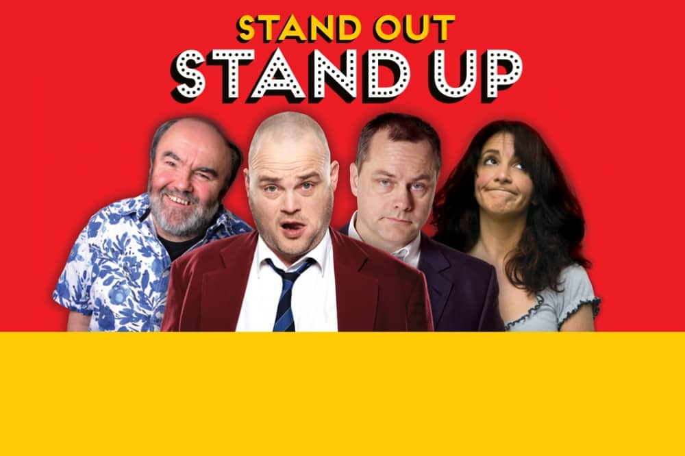 Stand out Stand up Al Murray Jack Dee Lucy Porter comedy show