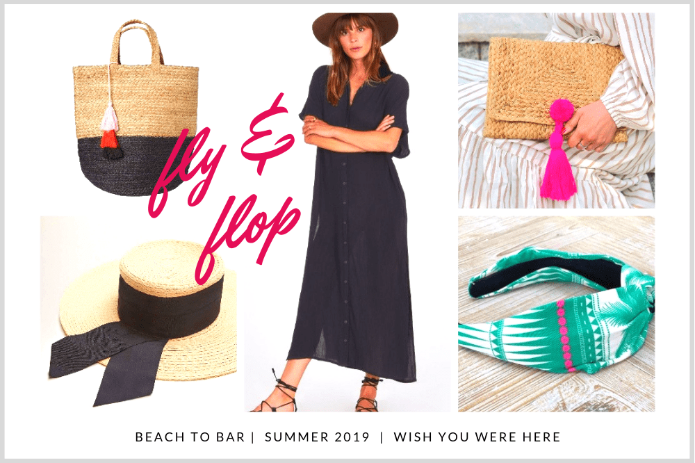 holiday capsule wardrobe beach to bsr looks