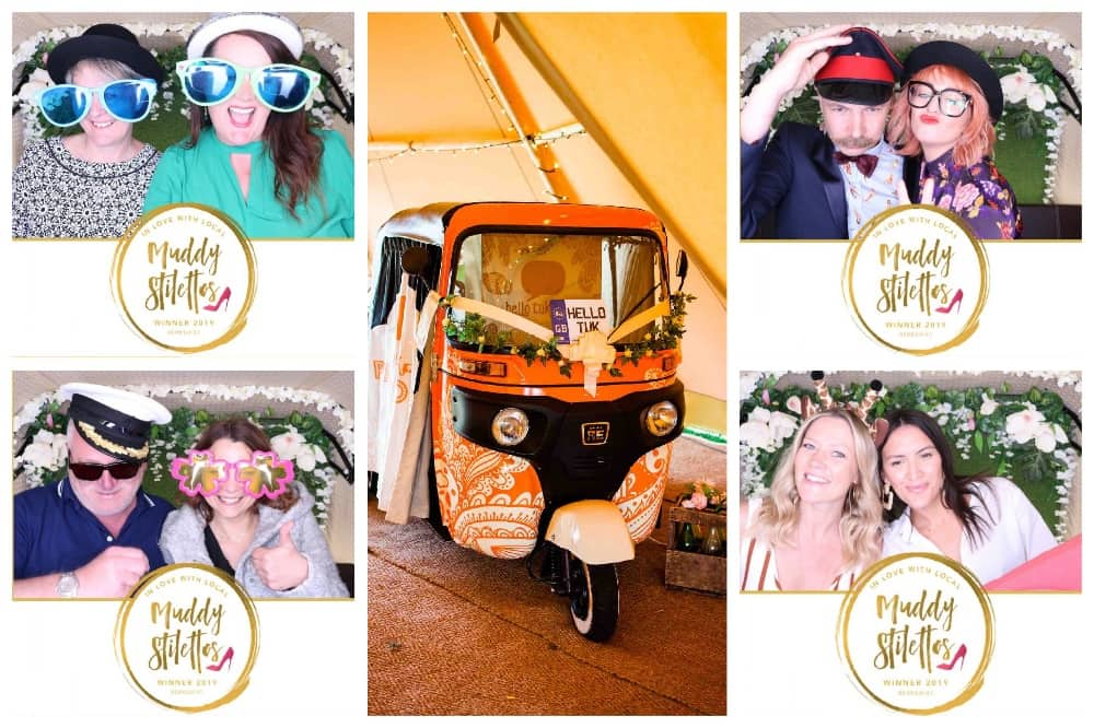 MUDDY Awards Berkshire 2019 winners party Hello Tuk Tuk Photo booth collage of pictures