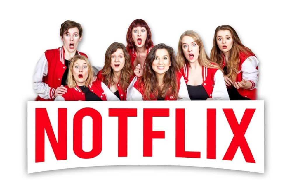 Notflix all female improvised comedy musical