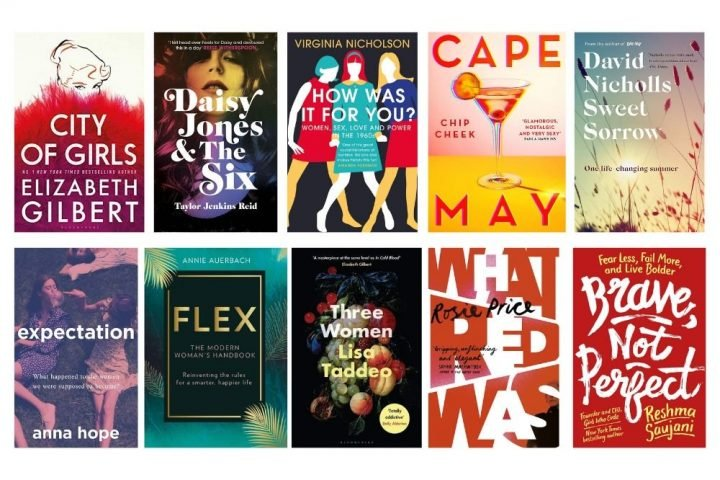 Collage of books Best reads for summer