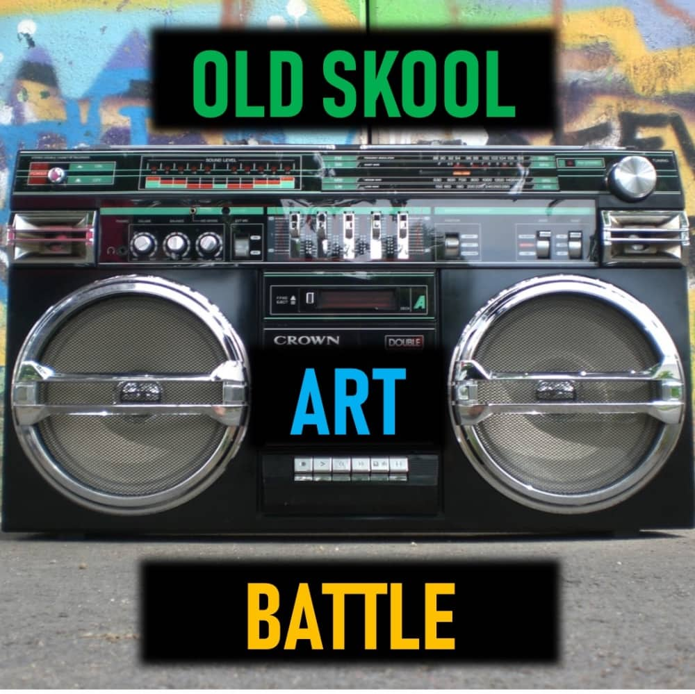 Beat Box Grafitti art and Old Skool Art Battle