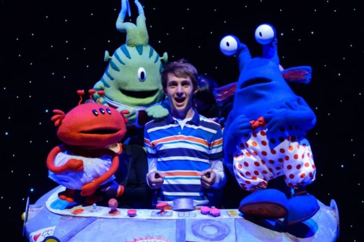 Aliens wear underpants STAGE PRODUCTION
