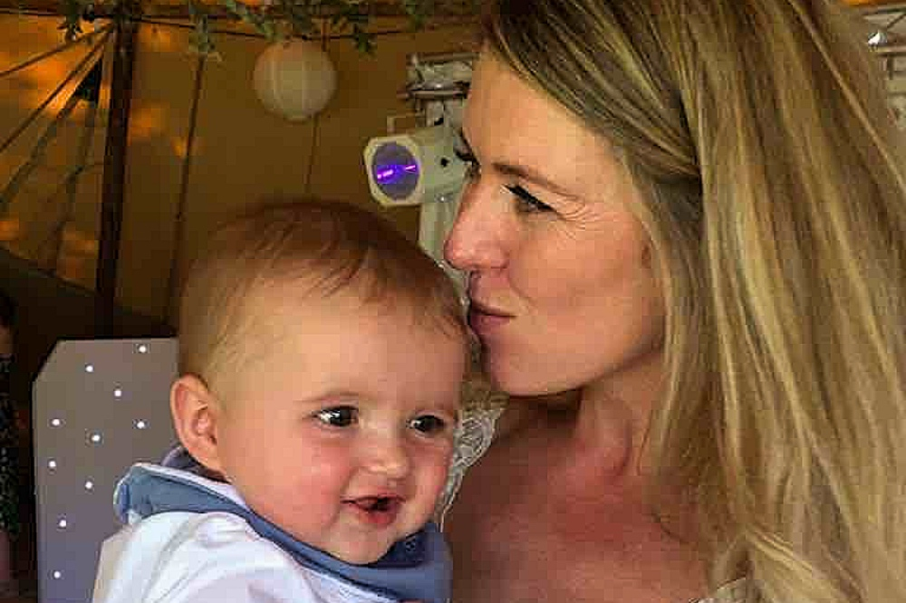 MammerTime founder Natalie Upton and her baby son