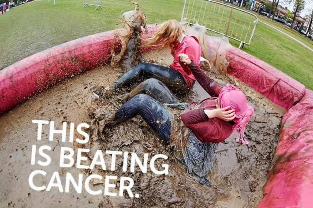 Pretty Muddy Kids 5k 10K Race for Life Cancer Research Reading Berkshire