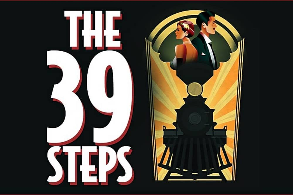 The 39 Steps poster Theatre Royal Windsor