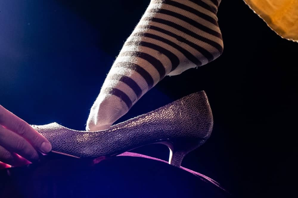 Grimm tales south hill park bracknell striped foot into glittery shoE
