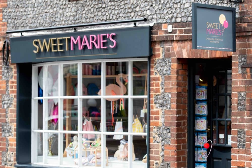 Sweet Marie's Party and gift shop Cookham Berkshire