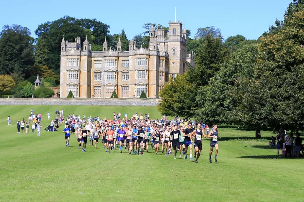 Englefield House West Berkshire Richard Benyon 10k multi terrain run