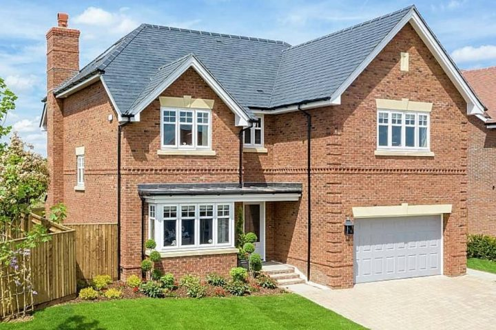 Breedon Place Pangbourne The Allington red brick detached house double garage