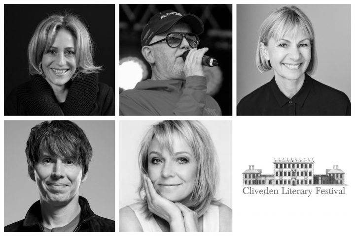 Cliveden Literary Festival 2019 line up Brian Coox Bret Eastoon Ellis Emily Maitlis Helen Fielding and Kate Mosse