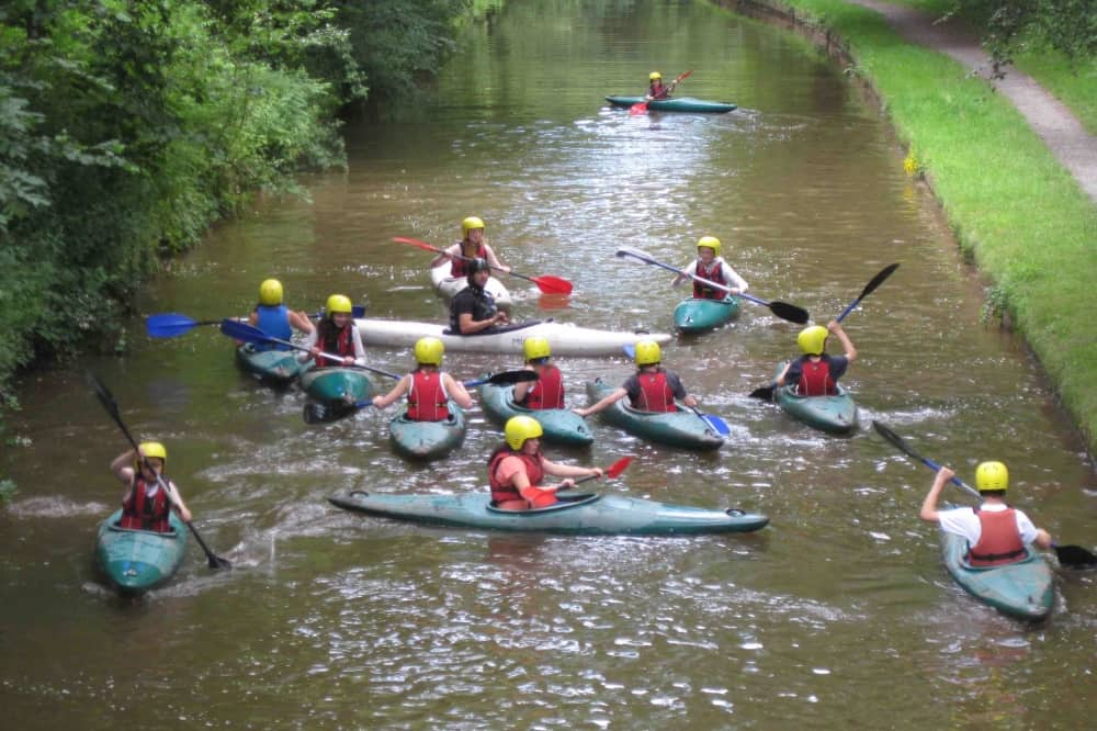LVS Ascot Berkshire co-curricular activities students canoeing
