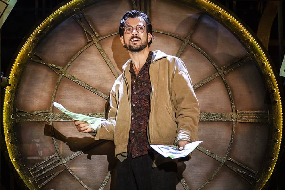 Danny Mac Nino in Amelie The musical Hexagon Reading
