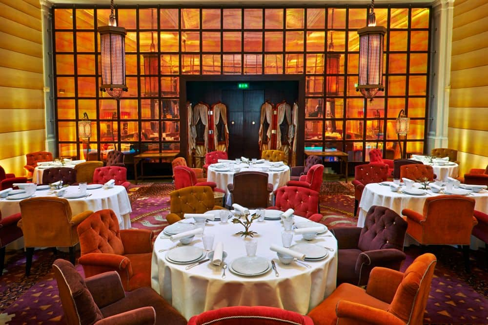 Sketch Lecture Room and Library restaurant three Michelin Stars London