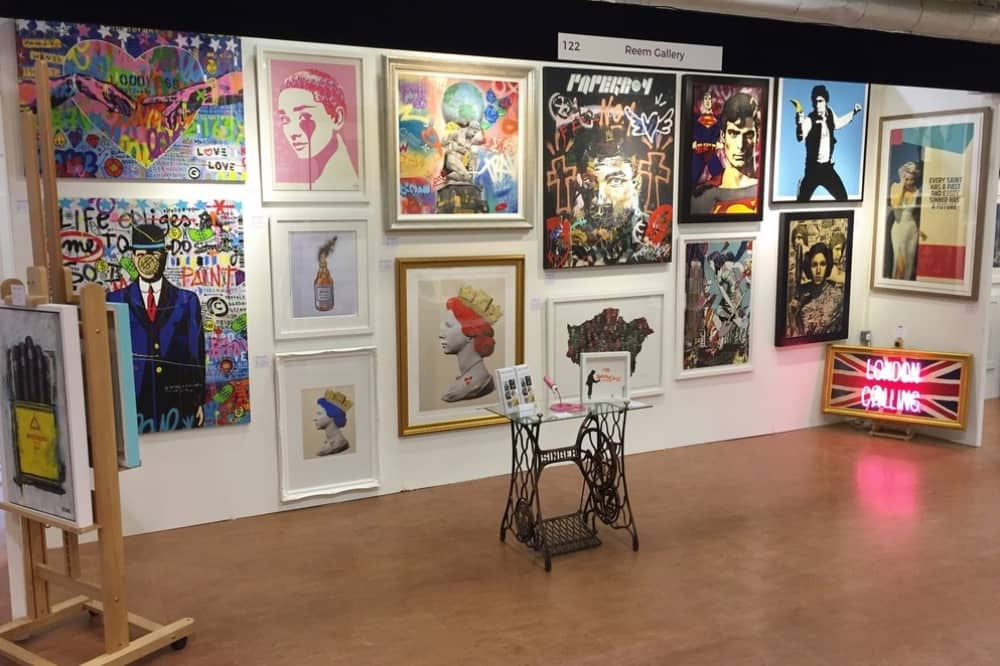 Contemporary art fair