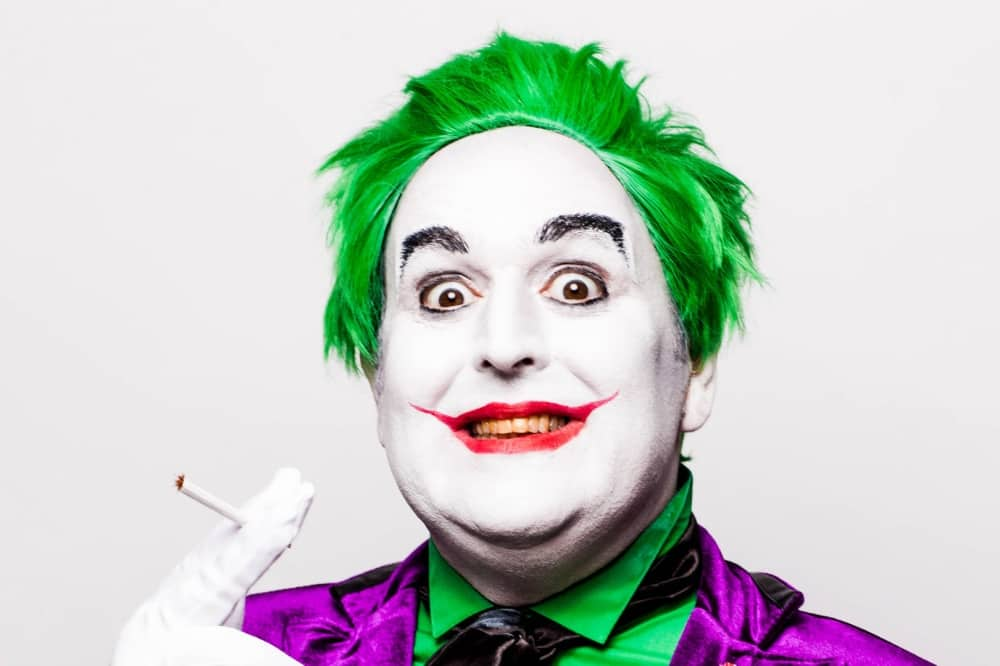 Juston Moorhouse comedian joker