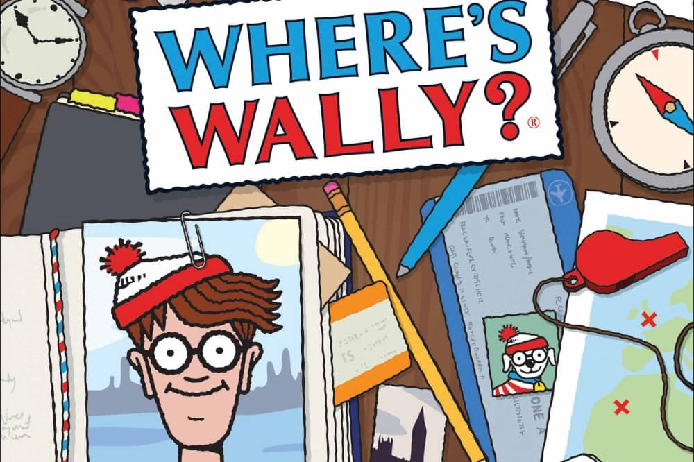 Where's Wally cartoon