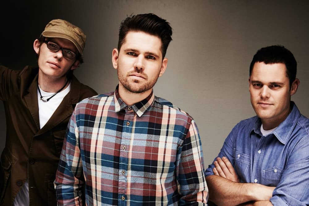 Scouting for girls – three band members