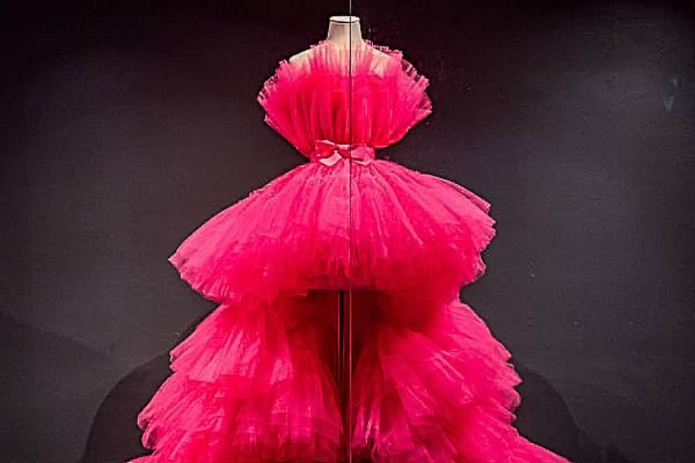 Fashion Museum Bath Pink Tulle Gown
