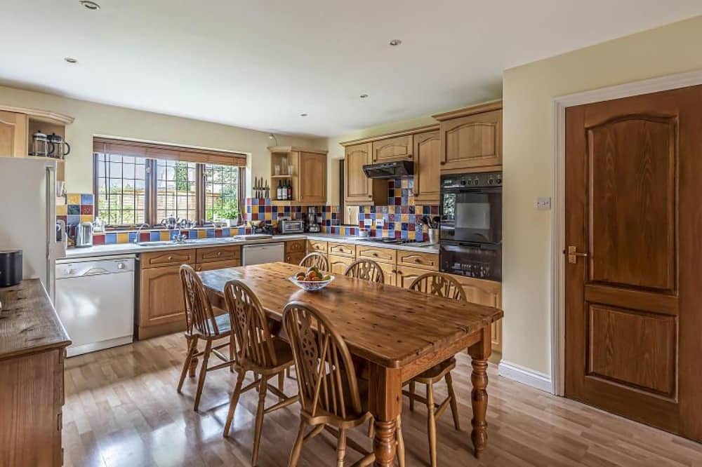 Haslams country kitchen in Upper Bucklebury family home