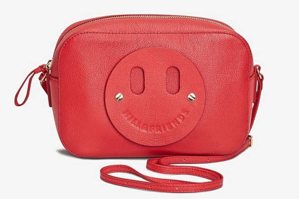 Label Mix Next Hill & Friends red crossbody bag