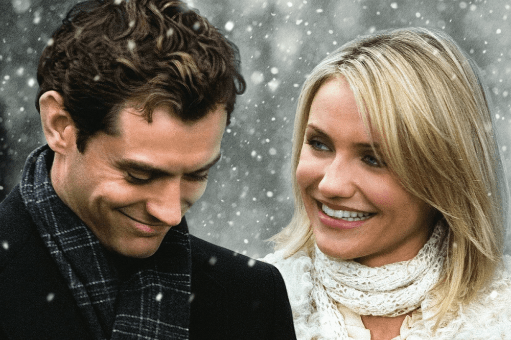 The Holiday – Jude Law and Cameron Diaz
