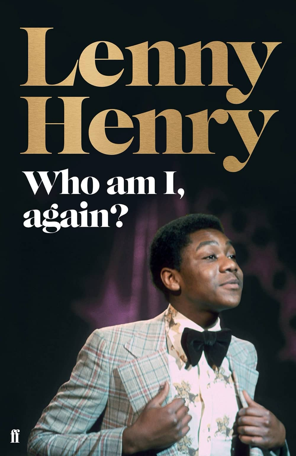 Who am I again by Lenny Henry