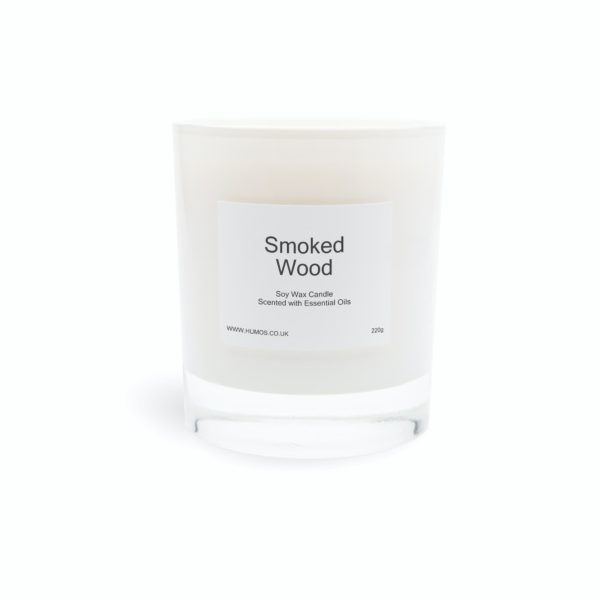 Humos smoked wood scented candle