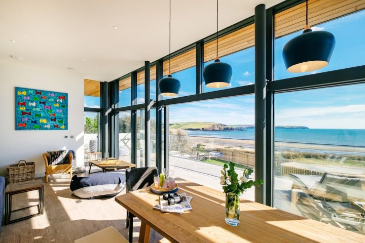 beach front house to rent in West Country