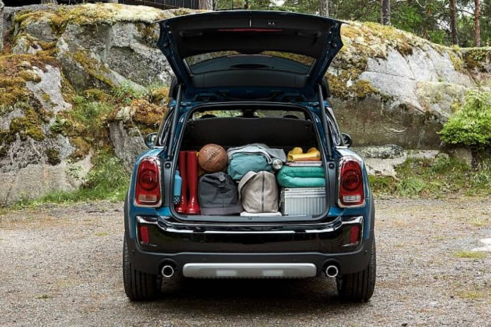 JCW Mini Countryman boot space