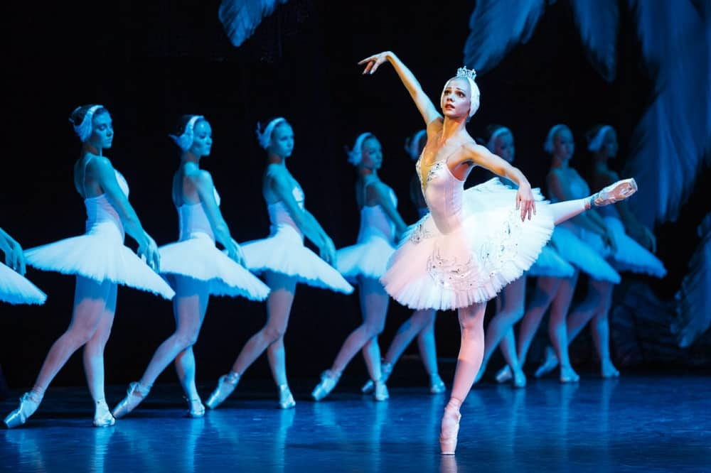 SwanLake Russian State Ballet Ophelia with her swans