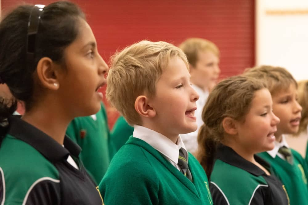 Waverley Prep School KS2 Choir