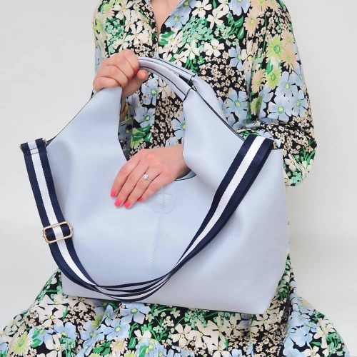 Gift Pop Pale Blue Tote