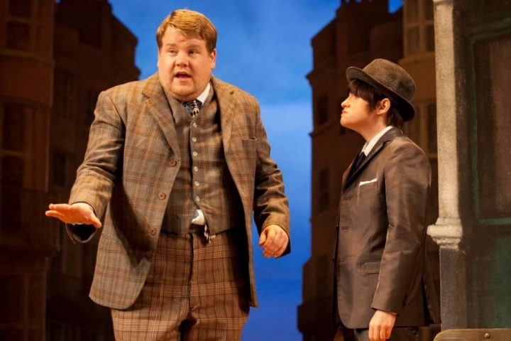 One man two guvnors National Theatre James Corden