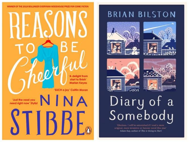 Reasons to be cheerful and diary of a somebody